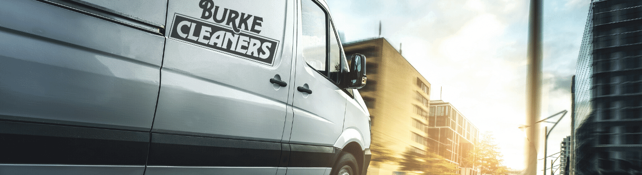Burke Cleaners Van